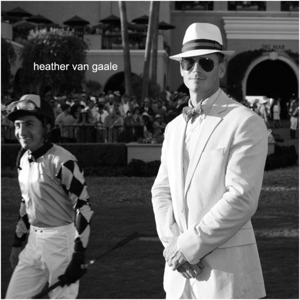 mens horse race fashion opening day del mar vintage style by san diego event photographer heather van gaale