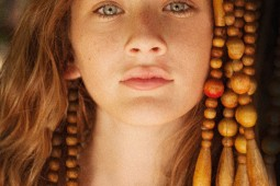 sophia Feinberg, hippie girl, tropical, bohemian kid, blue lagoon, kids editorial, heather van gaale, oc photo studio,