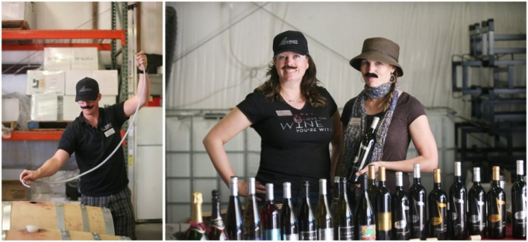 lorimar winery photo by wine photographer heather van gaale at barrl tasting event wow