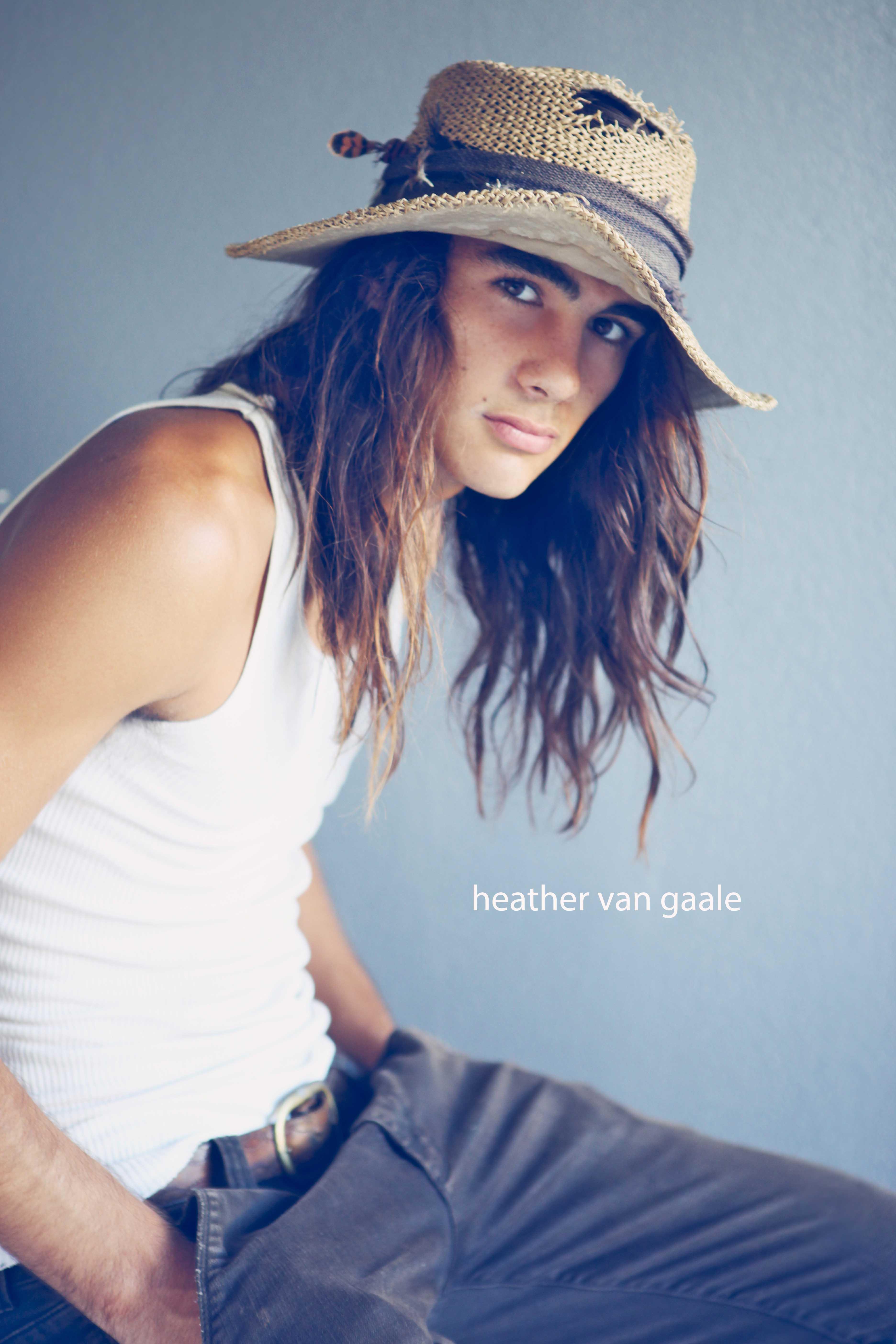 long hair skater model youth teen los angeles