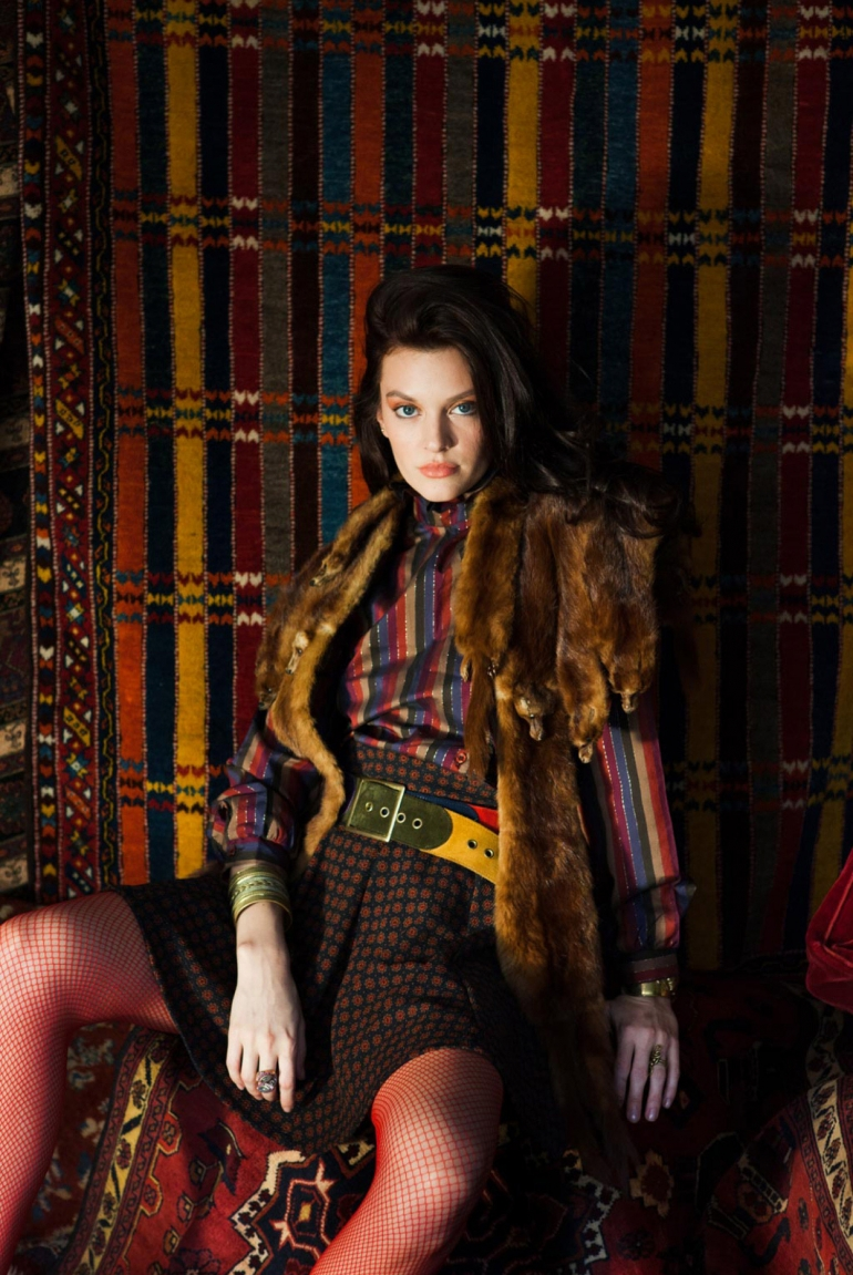 bohemian fashion ideas fall rock and roll hippie chic with miink stole shot by bohemian blogger heather van gaale