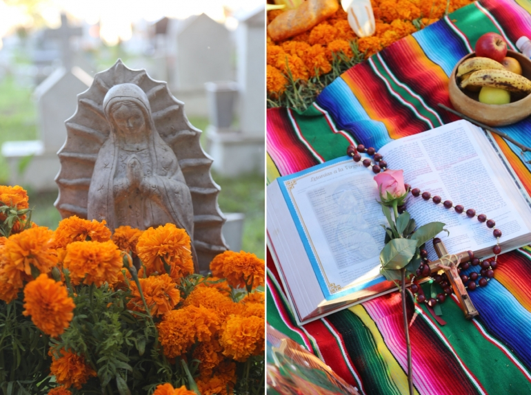 dia de los muertos celebration tijuana mexico november 2